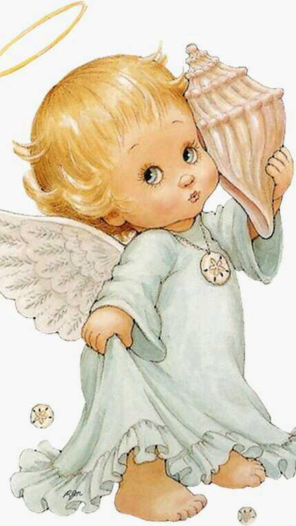 Картинки с ангелочком для девочки, картинка