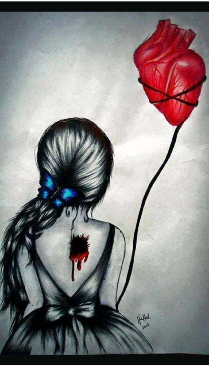 Картинки с разбитым сердцем девушки на аву, днем