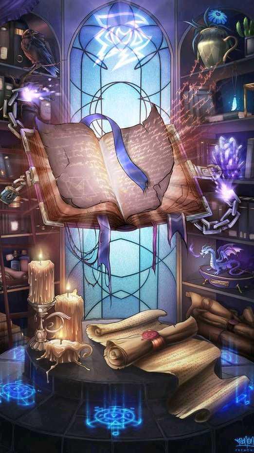 Книга магии и волшебства школа магии и волшебства гадания на картах из 36 штук