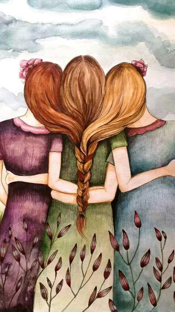 Картинка с надписью подруга как сестра, поросенка открытки